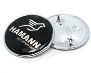 Наклейка Хаманн БМВ (73 мм) на капот / багажник