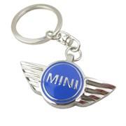 Брелок Мини Купер для ключей синий