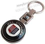 Брелок БМВ Alpina для ключей круглый
