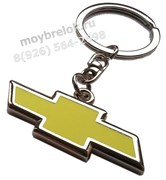 Брелок Шевроле для ключей желтый