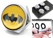 Болты Бэтмен крепления на гос. номер (набор), шестигр.