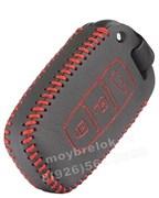 Чехол для смарт ключа Киа кожаный 3 кнопки, ix35 серия, черный