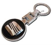 Брелок Сеат для ключей черный