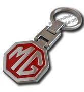 Брелок МГ для ключей красный