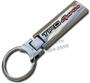 Брелок Тойота TRD для ключей красный